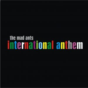 International Anthem album cover newsprint